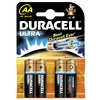 Duracell Batteries AA x 4